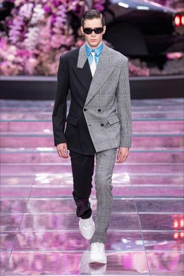 Abito uomo  bicolore di Versace - P/E2020