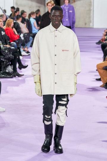 Jeans strappati uomo - nero