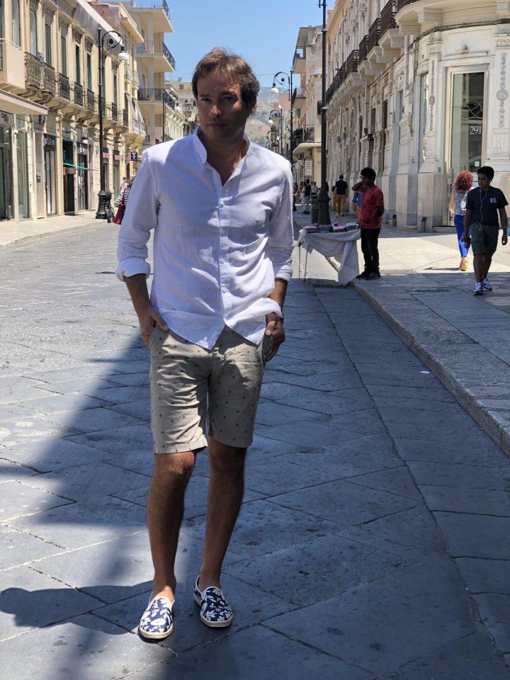 camicia di lino bianco - gogolfun.it