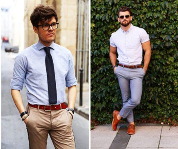 Camicie uomo maniche lunghe - gogolfun.it