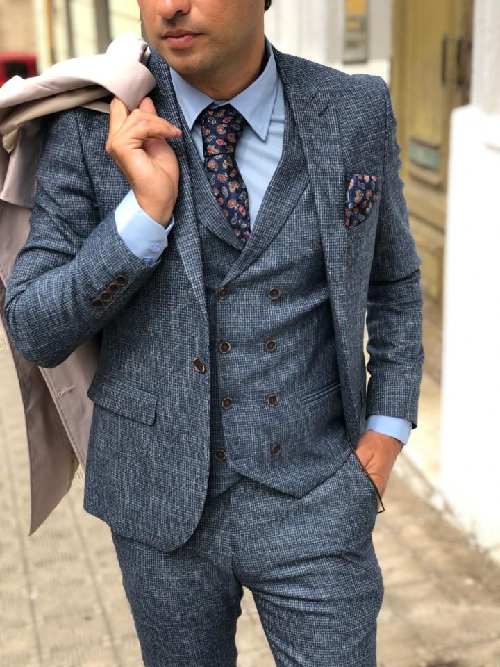 Abito uomo con gilet - Look perfetto per un matrimonio