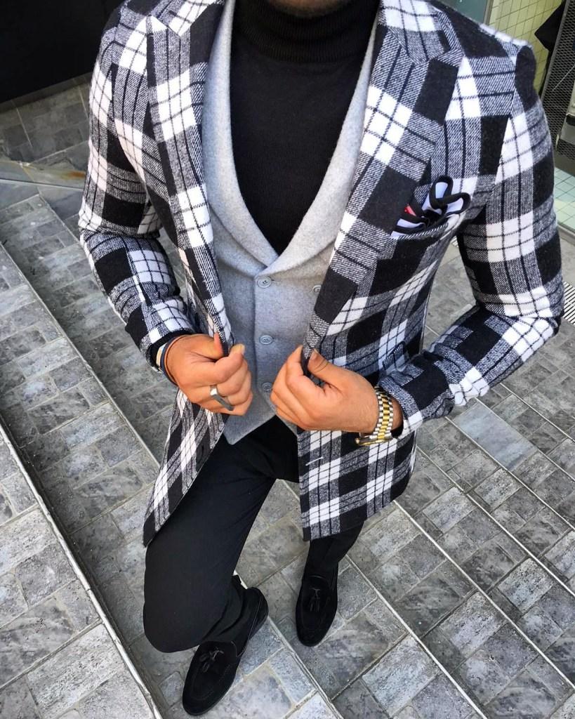 Il panciotto può essere indossato anche sul maglione a collo alto
