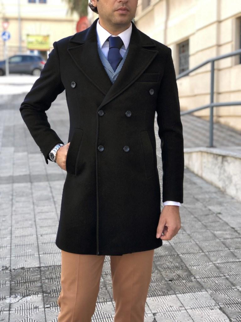 Online Gogolfun.it - Cappotto uomo blu