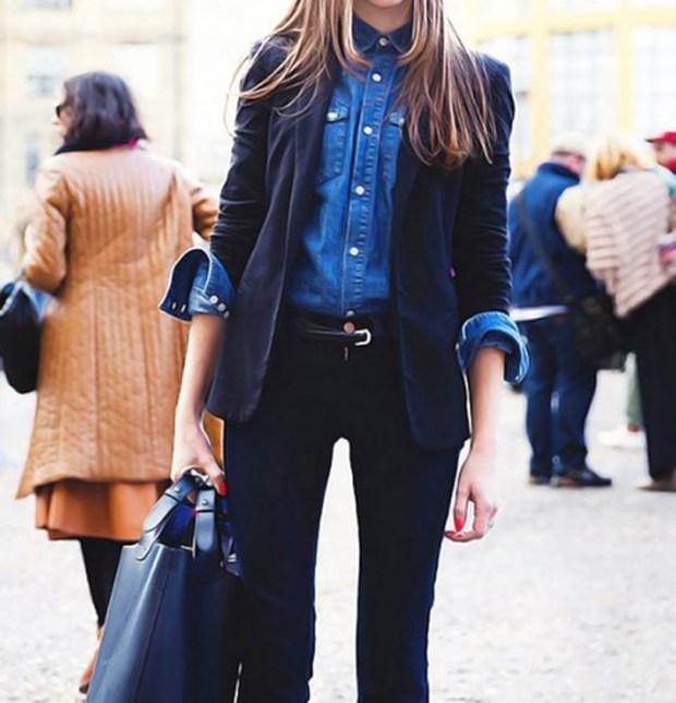 Camicia di jeans, denim sempre vincente - gogolfun.it