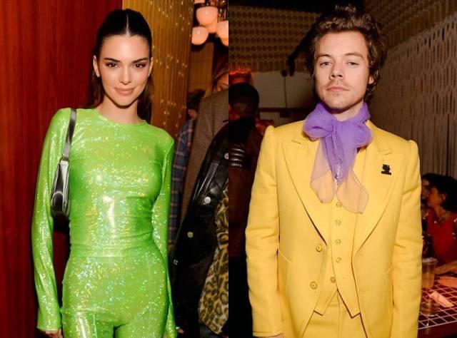 Kendal Jenner in tuta coloratissima