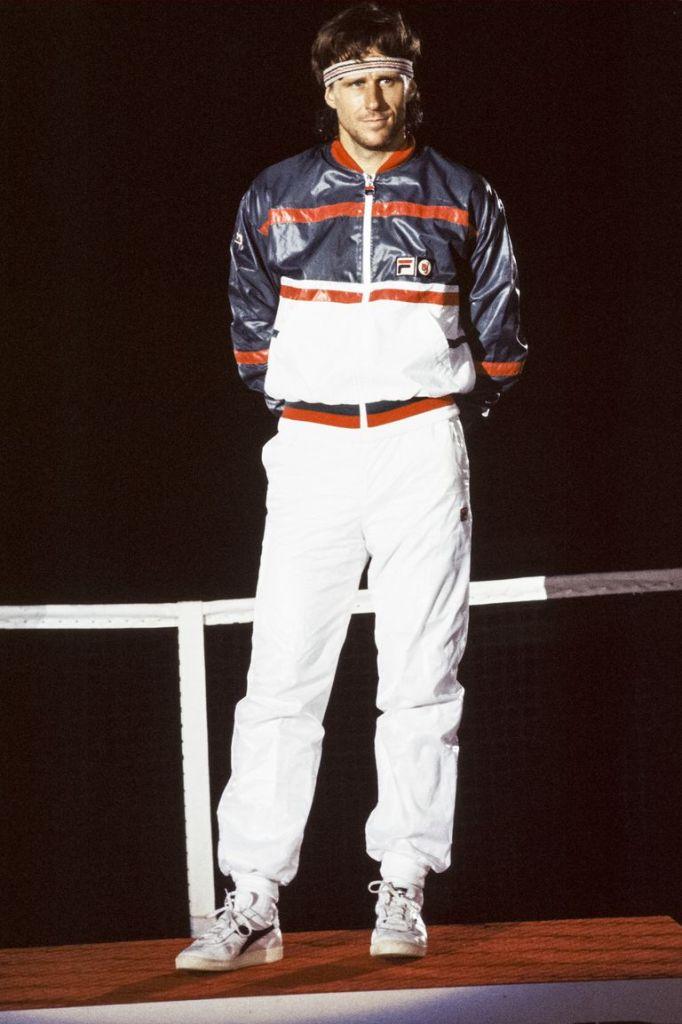 Sport wear old style - felpa in acetato