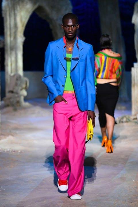 Outfit uomo, super colorato - Etro