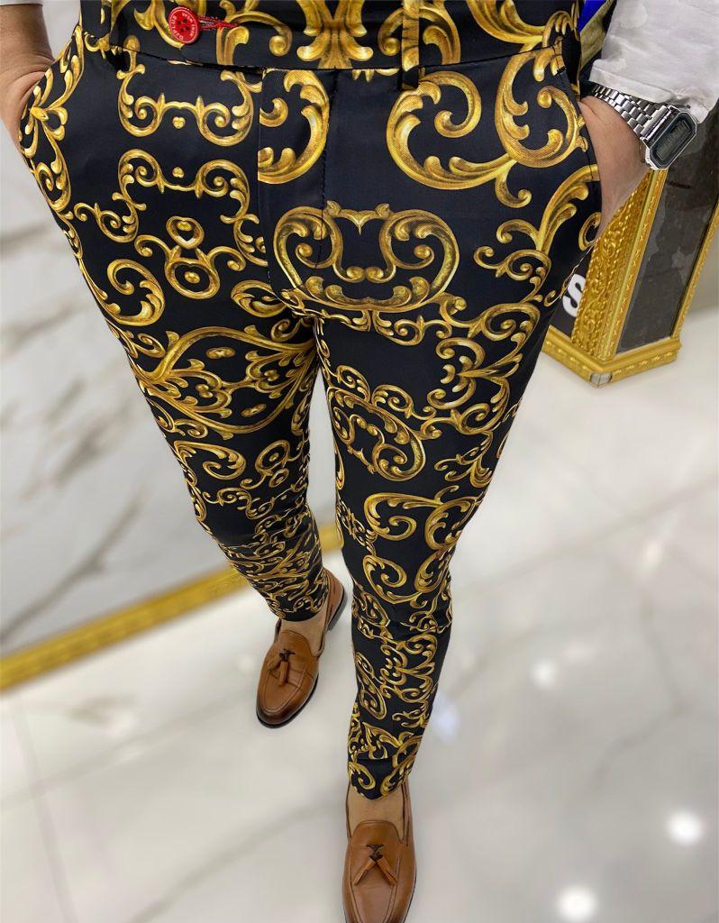 Pantaloni uomo - Fantasia in stile barocco, perché dovete avere un gusto eclettico questa estate - Gogolfun.it