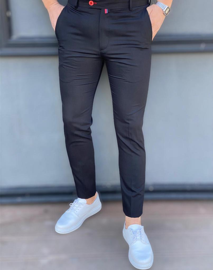Pantaloni uomo, micro fantasia, solo le persone chic li posseggono - Gogolfun.it