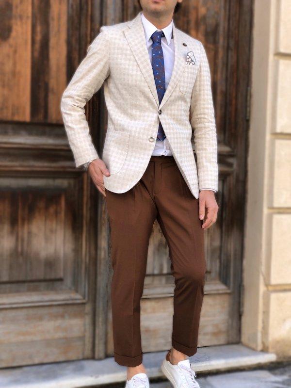 Outfit con camicia classica, uomo