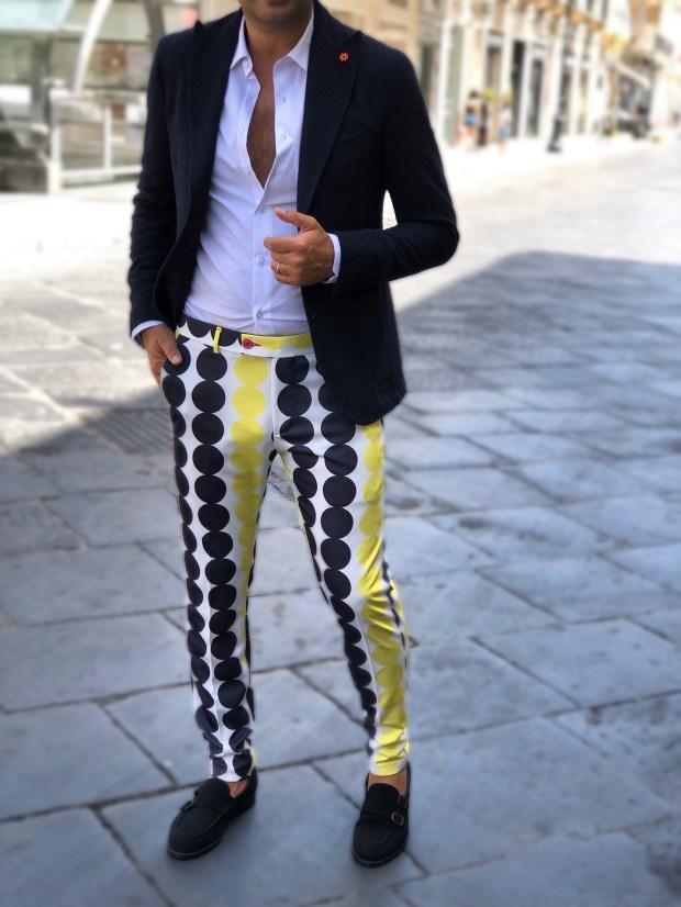 Outfit uomo, anni 70'