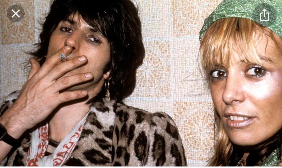 Sempre Keith ed Anita ed il loro look