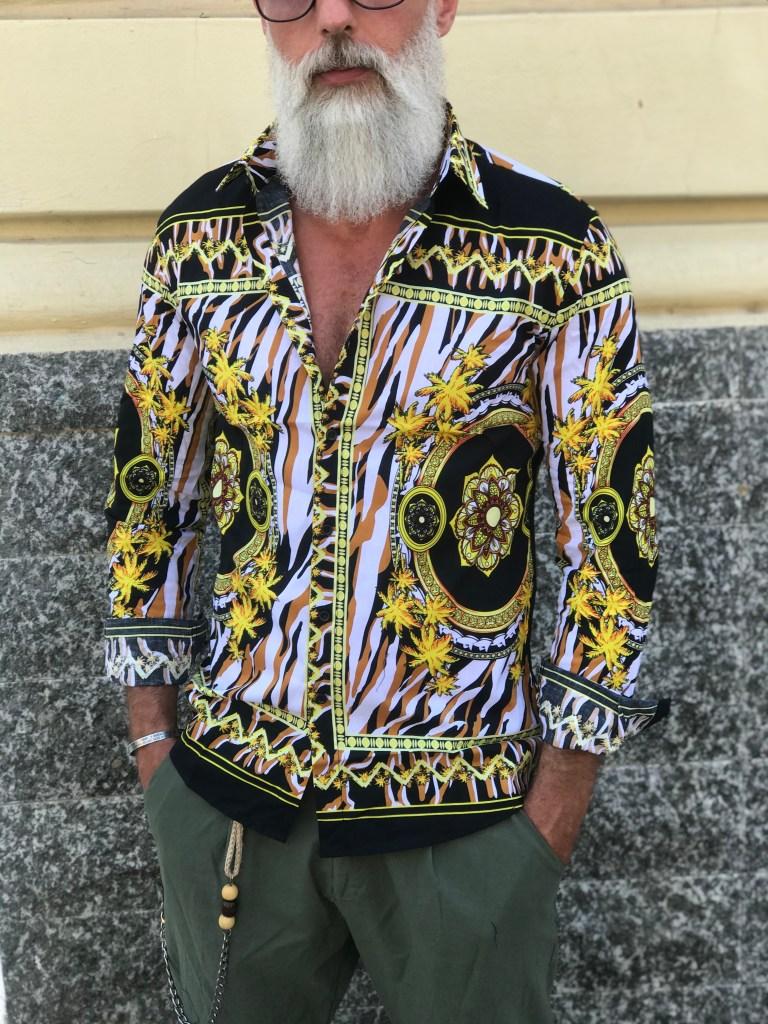 Camicia uomo in stile Gogolfun