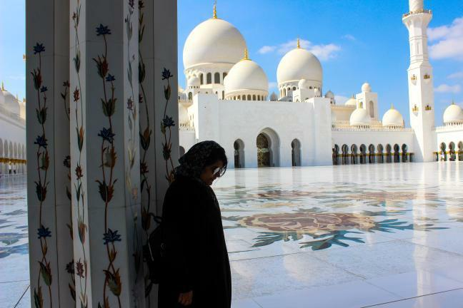 Sheikh Zayed Grand Mosque – @aasthaa_gangwar