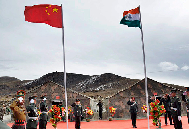 The India-China issue