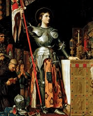 JOAN OF ARC- A HEROINE WARRIOR OF FRANCE