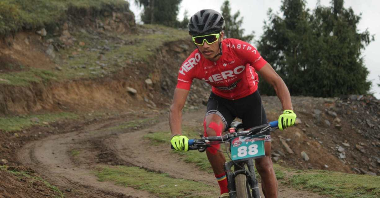 David Kumar: India's top mountain biker who finished first among his countrymen at MTB Himalaya