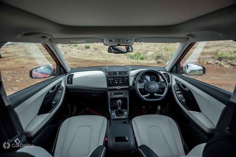 Description: Hyundai Creta cabin (diesel variant)