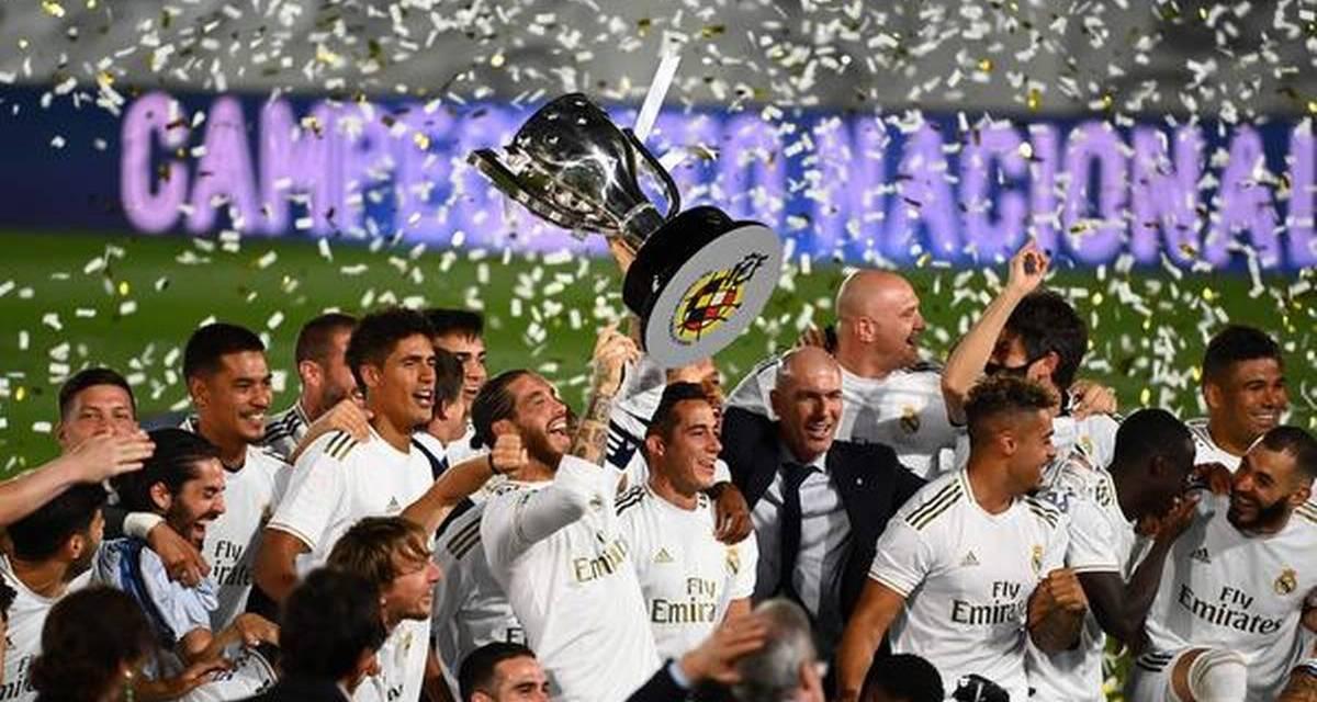 REAL MADRID – THE UNDISPUTED LA-LIGA CHAMPIONS