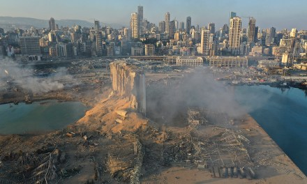 BEIRUT BLASTS : A TRAGEDY IN AN ONGOING PANDEMIC