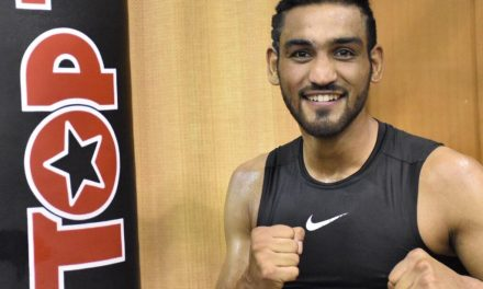 """Our performances would be better than COVID-19."" Says Indian boxer Ashish Chaudhary"