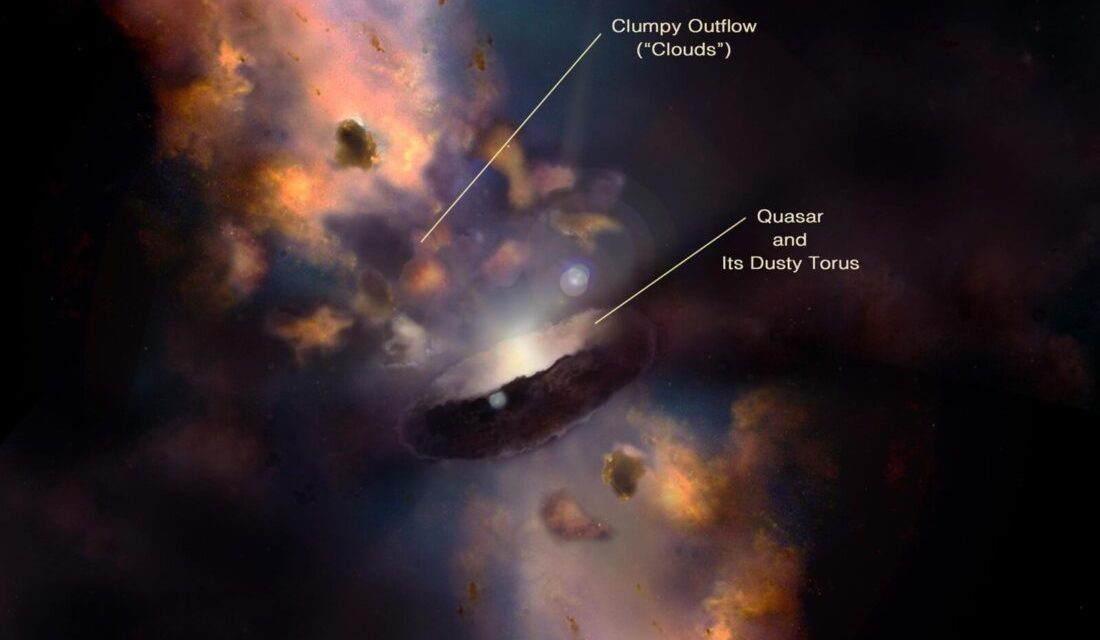 Why Mysterious Cosmic Clouds Form Near Black Holes
