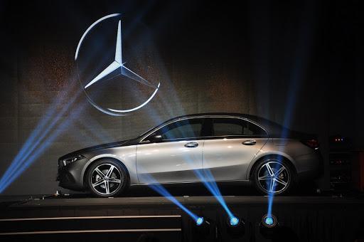 Mercedes-Benz A-class Sedan: The A-class Limousine