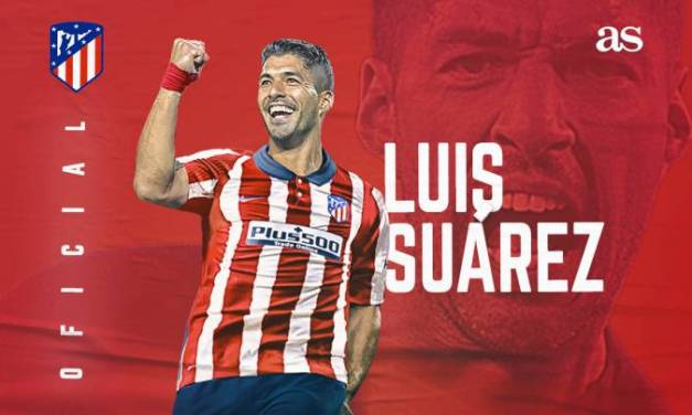 Barca Legend Luis Suarez signs a €6 million transfer deal with Atletico Madrid.