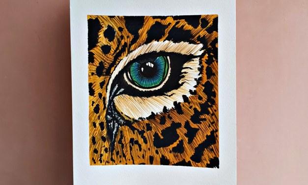 Eyes that hunt – @artt_trisha