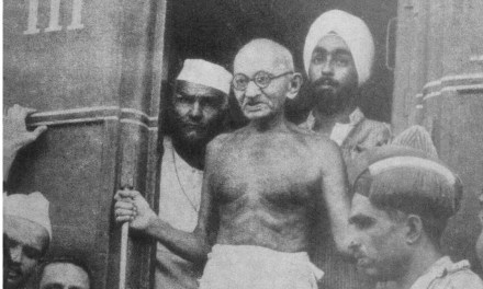 Little about Mohandas Karamchand Gandhi