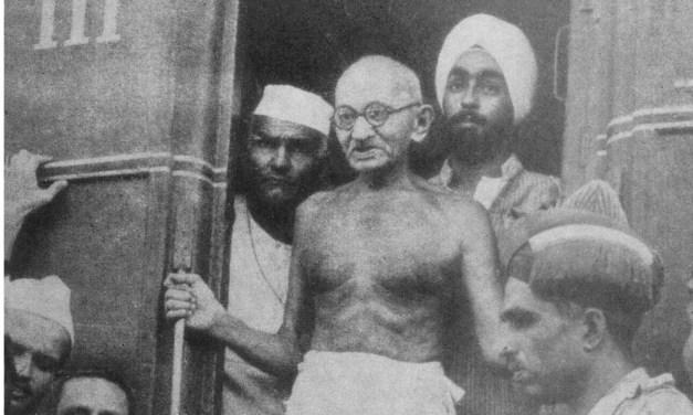 Little about Mohandas Karamchand Gandhi