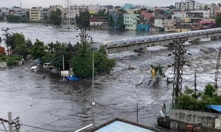 FLOODS HIT INDIA HARDER AMID COVID-19 PANDEMIC