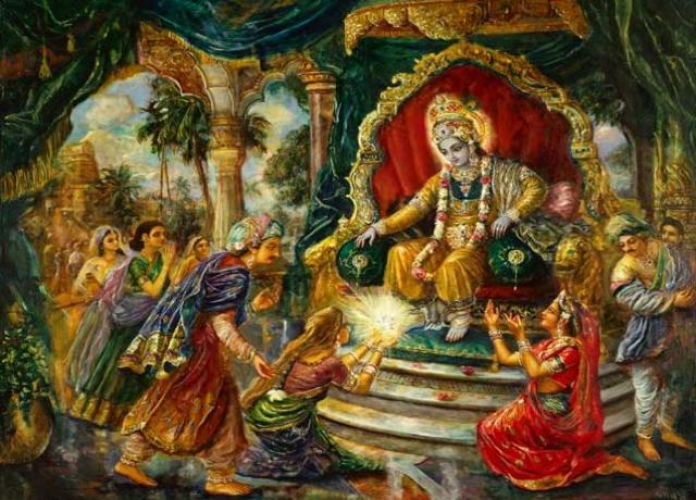 Yayati and Krishna