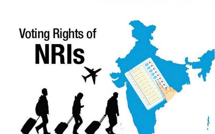 Election commission taking NRI Votes through postal ballots