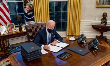 President Biden's 1st day Executive Orders