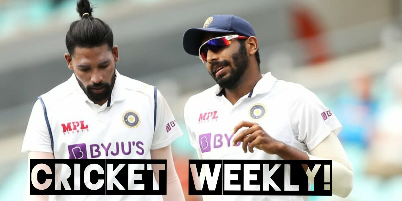 Cricket weekly!