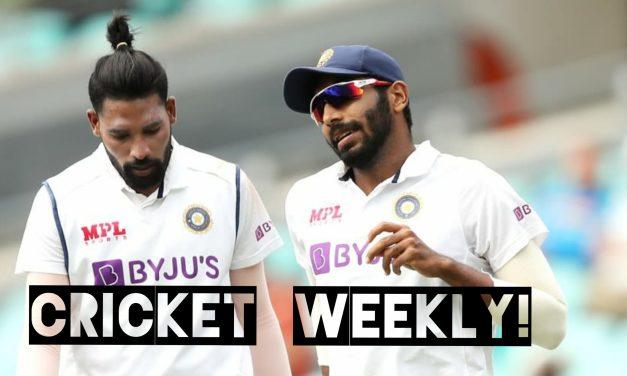 Cricket weekly!