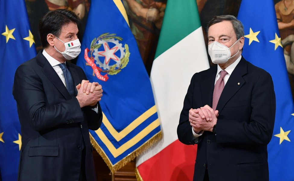 Mario Draghi sworn as the Italy's new prime minister