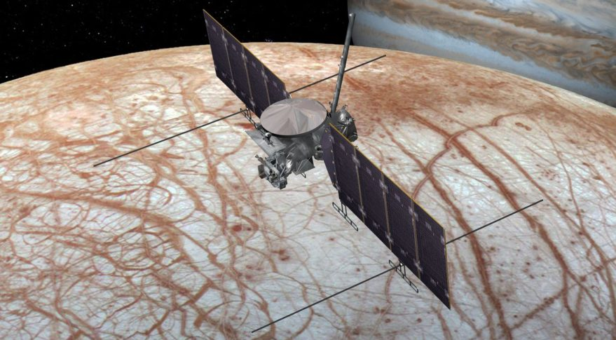NASA to use commercial launch vehicle for Europa Clipper