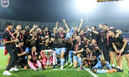 MUMBAI CITY'S MAIDEN ISL WIN