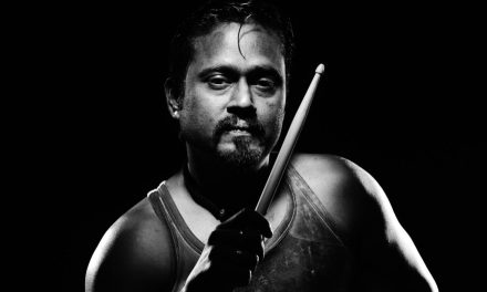 CHRIS POWELL – THE legendary drummer in the Indian Music fraternity