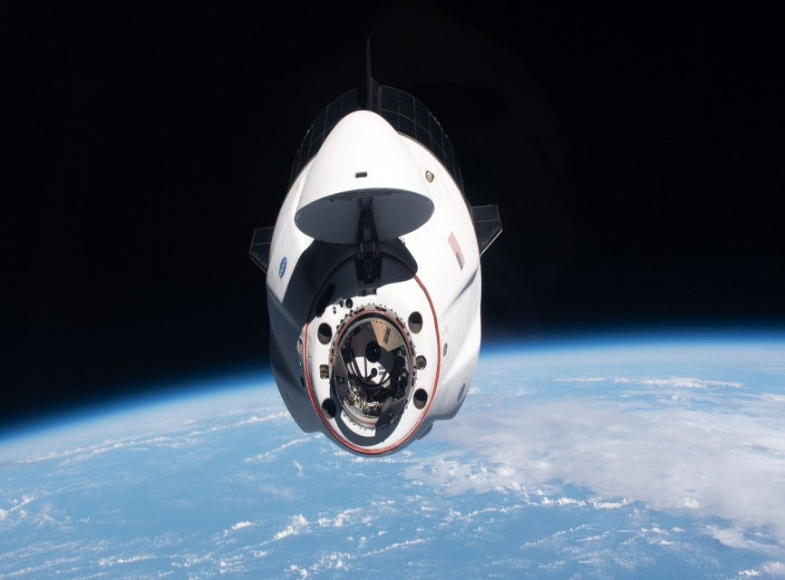 Astronauts leave ISS, begin return to Earth on SpaceX craft