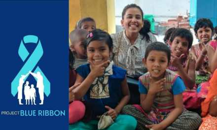 PROJECT BLUE RIBBON – a youth-led organization that raises awareness on Child Maltreatment and Child Rights