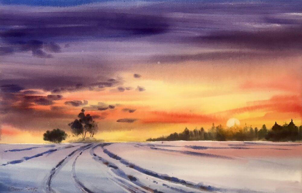 February sunrise – @sujit.sudhi
