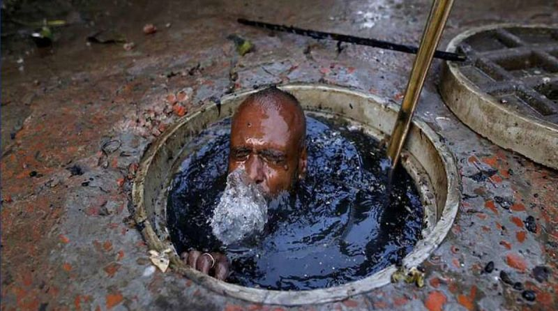 Manual scavenging a system of neglecting human rights