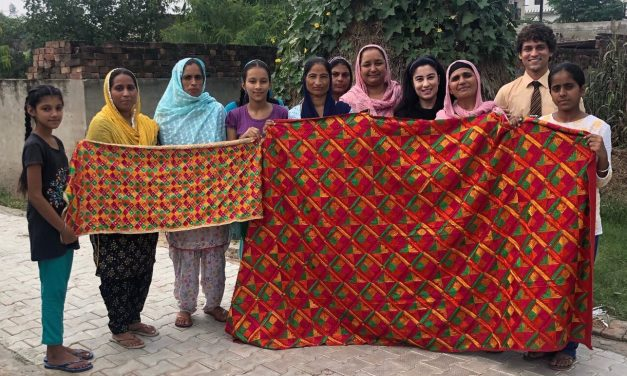 Reviving an old art of phulkari a small venture by the rural woman