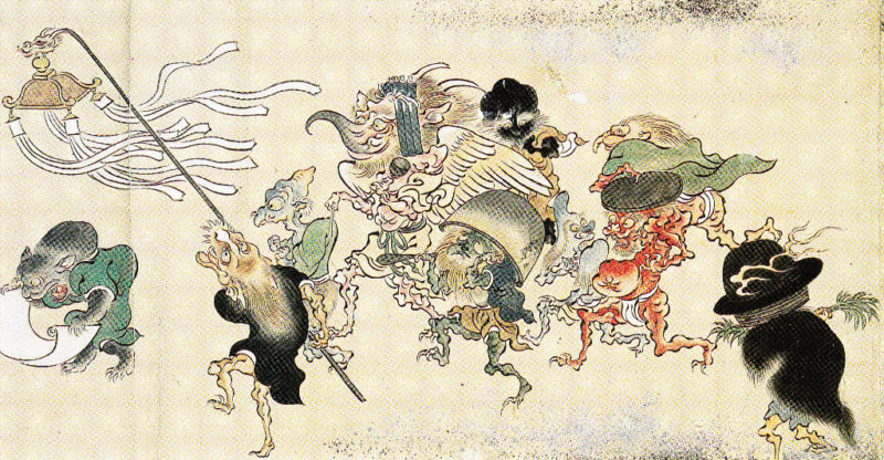 Fantasmas y espíritus japoneses