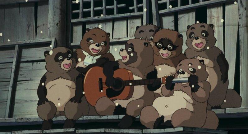 Imagen de la película Pom Poko