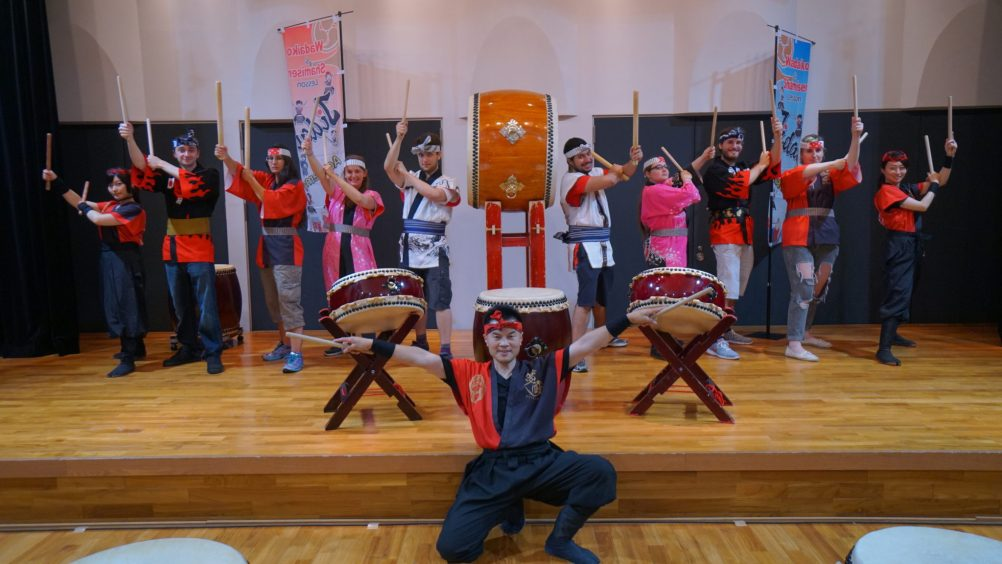 Taiko drums have a rich history in Japanese music from