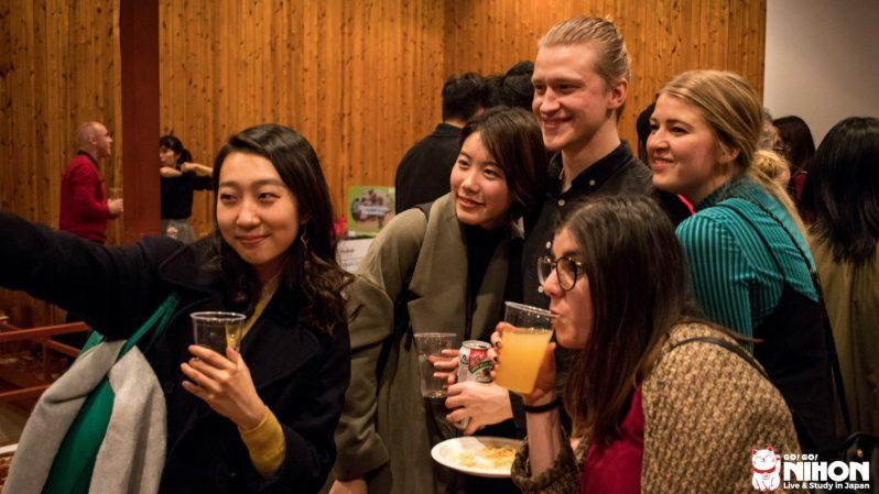 internationell fest i japan